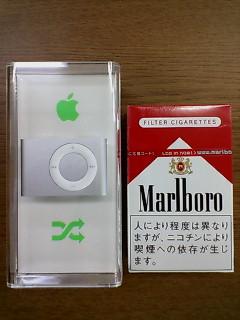 iPod shuffle and Marlboro